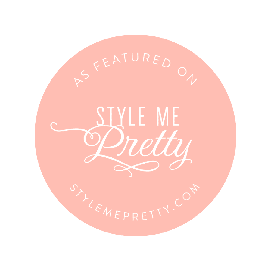Featured on Stylemepretty.com
